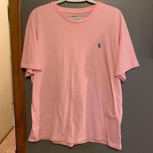 Men's Pink Polo T-shirt